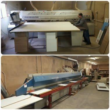 Bútorgyártás, bútorlapszabászat